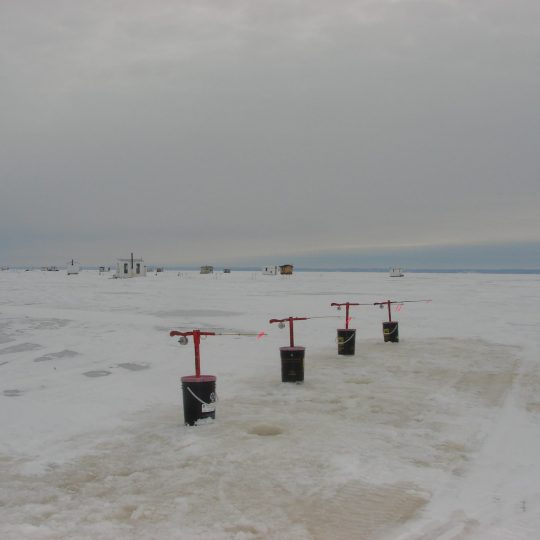 Pêche hiver